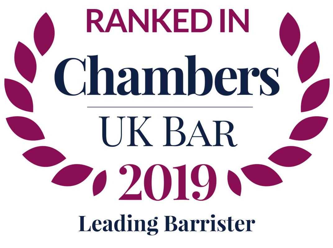 Chambers UK Bar 2019: Leading Barrister