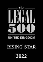 Legal 500 Rising Star