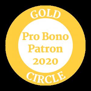 Gold Circle: Pro Bono Patron 2020