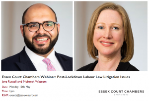 Essex Court Chambers Webinar: Post-Lockdown Labour Law Litigation Issues