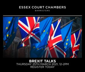 Essex Court Chambers Brexit Talks