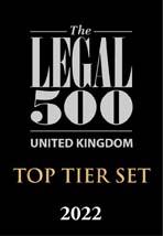 Legal 500 Top Tier Set